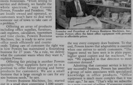 Powers Business Machines History Newport News VA
