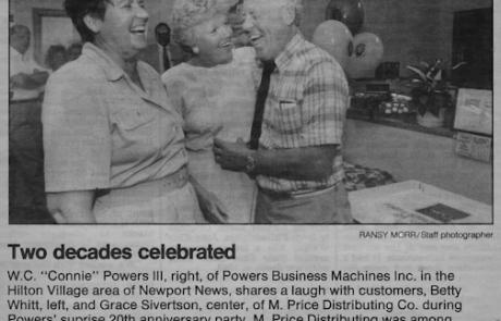 Powers Business Machines Newport News VA