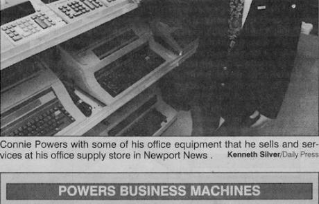 History Of Business Machines Newport News VA